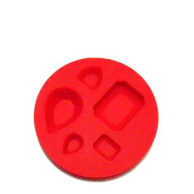 Set accesorii fimo, cauciuc,  forme geometrice 1 buc