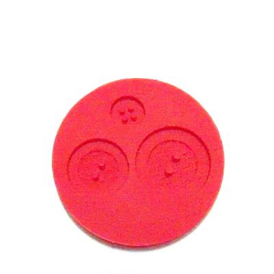 Set accesorii fimo, cauciuc,  forme nasturi 1 buc