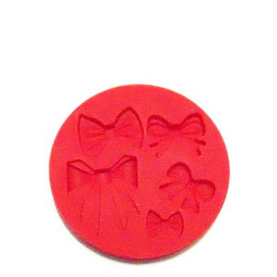Set accesorii fimo, cauciuc,  forme fundite 1 buc