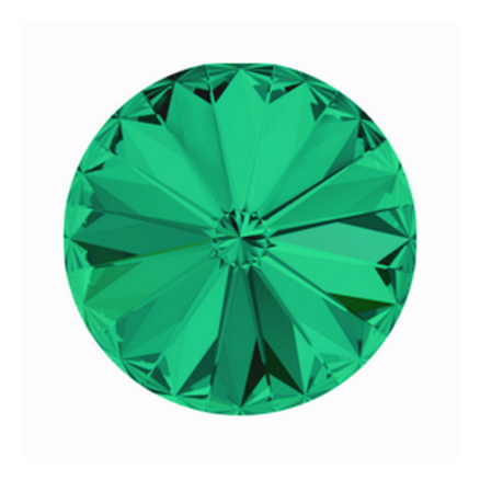 Swarovski Elements, Rivoli 1122 - Emerald, 8mm 1 buc