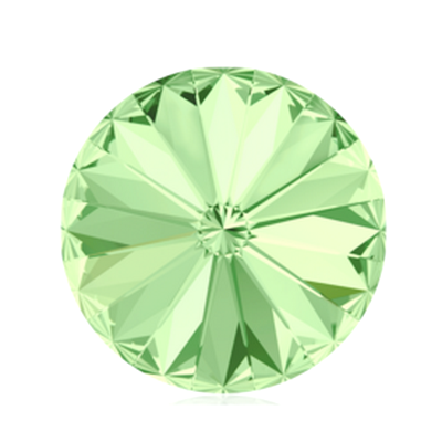 Swarovski Elements, Rivoli 1122 - Chrysolite, 8mm 1 buc