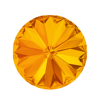 Swarovski Elements, Rivoli 1122 - Tangerine, 8mm 1 buc