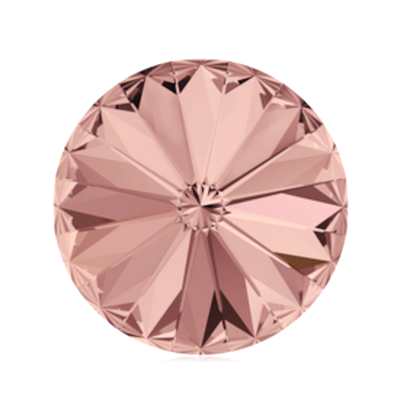 Swarovski Elements, Rivoli 1122 - Blush Rose, 8mm 1 buc