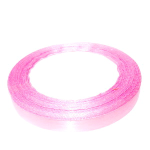 Saten roz, 10mm, rola 22 metri 1 buc