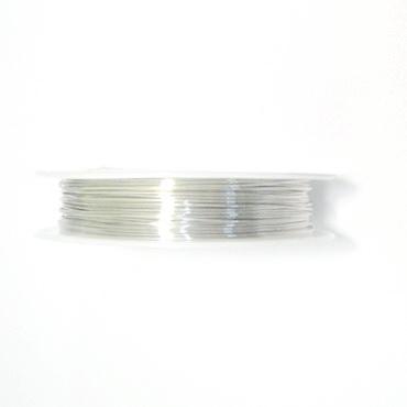Sarma modelaj argintie 0.6mm-rola 8 metri 1 buc