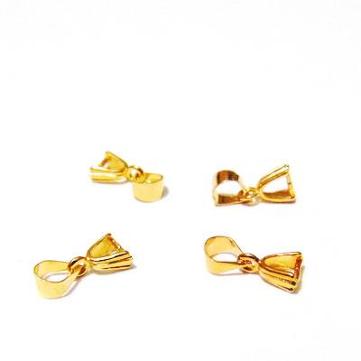 Accesoriu pandantiv, auriu, 12mm 1 buc