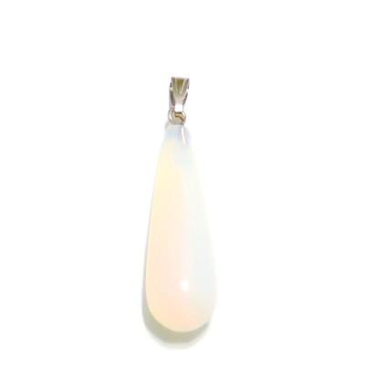 Pandantiv opal, lacrima 33x9.5~10mm, cu accesoriu 1 buc