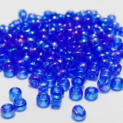 Margele TOHO rotunde 8/0 :  Transparent-Rainbow Sapphire 20 g