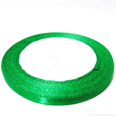 Saten verde deschis, 7 mm 1 rola 25 m