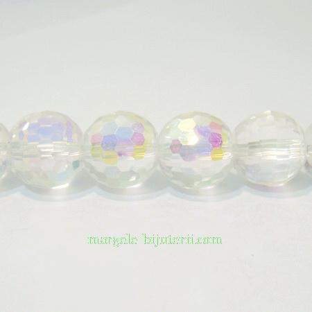 Cristal AB transparent 12mm 1 buc
