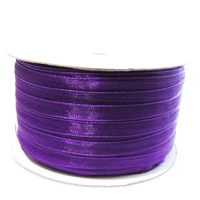Panglica organza violet, 6mm-rola 230 metri  1 buc