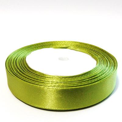 Saten verde-galbui, 16 mm-rola 22 metri 1 buc
