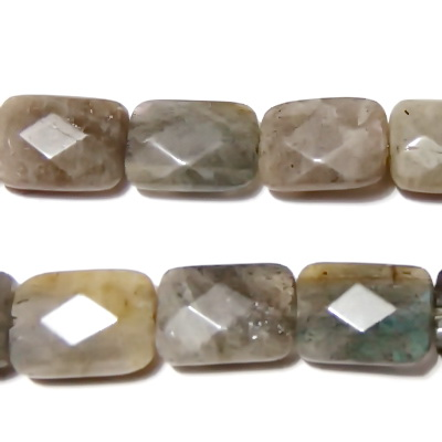 Labradonit multifete, dreptunghiular, 17x12x6mm 1 buc