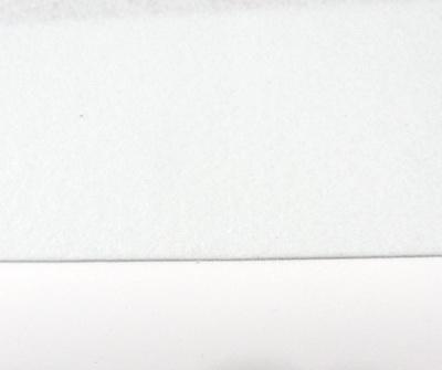 Fetru alb-bleu, foaie 50x50cm, grosime 1.5mm 1 buc