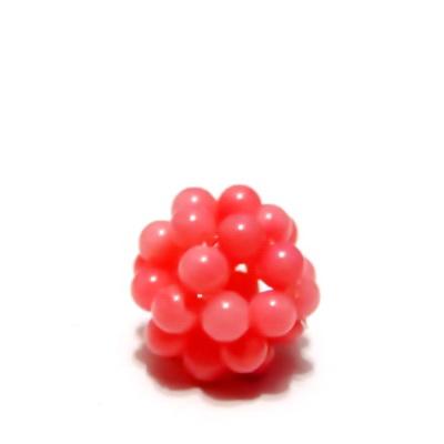 Bulgaras jad roz 3mm, 12mm 1 buc