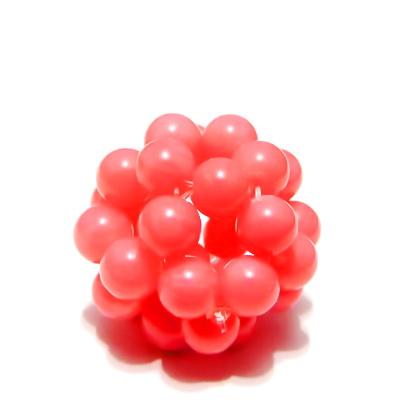 Bulgaras jad roz 4.7mm, 20mm 1 buc