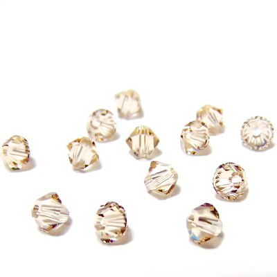 Swarovski Elements, Bicone 5328-Light Silk, 4mm 1 buc