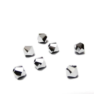 Swarovski Elements, Bicone 5328-Chrome, 4mm