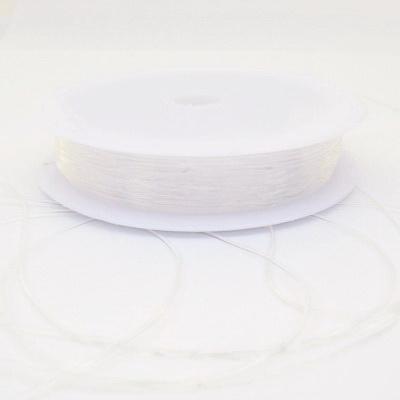 Fir elastic transparent 0.6mm 1 rola 14 m