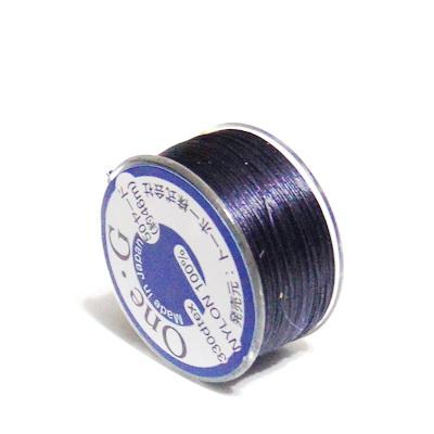 Ata pt insirat margele TOHO, bleumaren, 0.2mm, rola 46m 1 buc