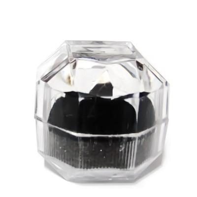 Cutie plastic, cu catifea neagra, 40x40mm 1 buc