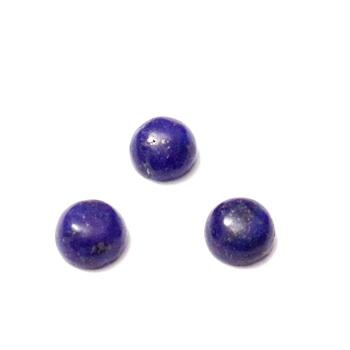 Cabochon  Lapis Lazuli, 6x3~4mm 1 buc