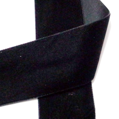 Panglica catifea neagra, 38.1mm 1 m