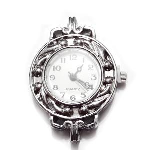 Ceas argintiu, 33x25mm 1 buc