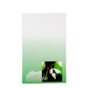 Carton martisor, cu buchet de trandafiri, 9.2x5.3cm 10 buc
