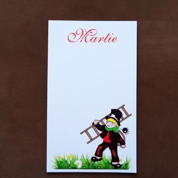 Carton martisor, cu cosar, 9.2x5.3cm 10 buc