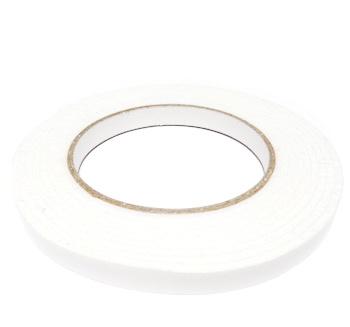 Banda de lipit din burete alb, dublu-adeziva, latime 10mm 1 buc