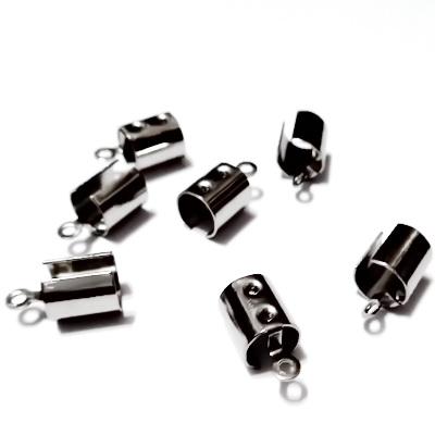 Capat prindere snur, otel inoxidabil 304, 12x6.5mm, interior 5mm 1 buc