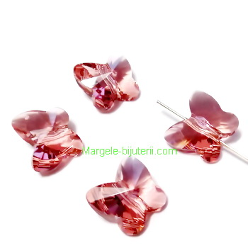 Swarovski Elements, Butterfly 5754-Blush Rose, 10 mm 1 buc