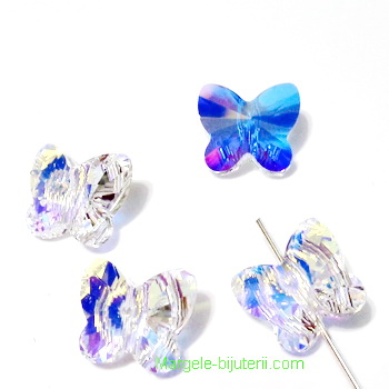Swarovski Elements, Butterfly 5754-Crystal AB, 10 mm 1 buc