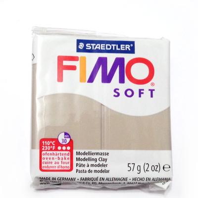 Plastelina fimo soft 56g cod cul 87 taupe 1 buc