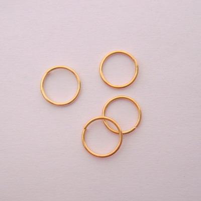 Zale simple aurii 7mm, grosime 0.8mm 100 buc
