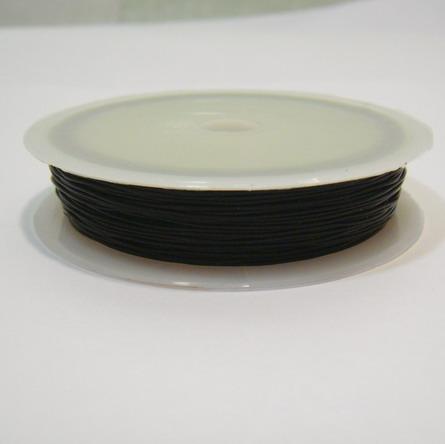 Fir elastic negru 0.5 mm 1 rola 20 m