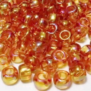 Margele TOHO, rotunde  6/0 : Transparent-Rainbow Topaz 20 g