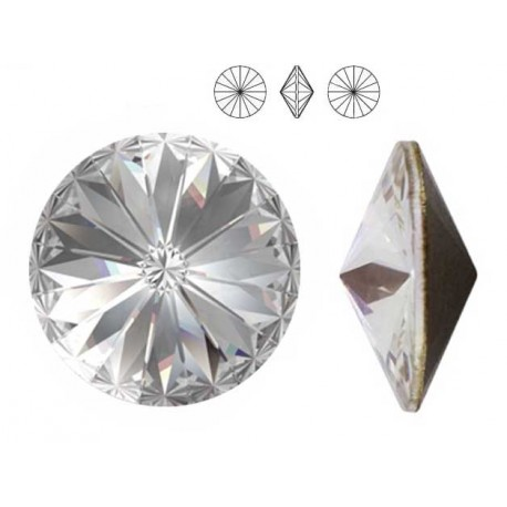 Swarovski Elements, Rivoli 1122 - Crystal, 12mm 1 buc