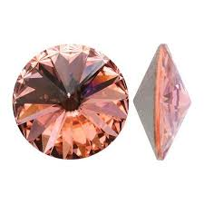 Swarovski Elements, Rivoli 1122 - Blush Rose, 12mm 1 buc