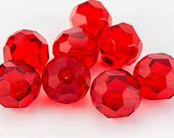 Swarovski Elements, Faceted Round 5000-Light Siam, 6mm 1 buc