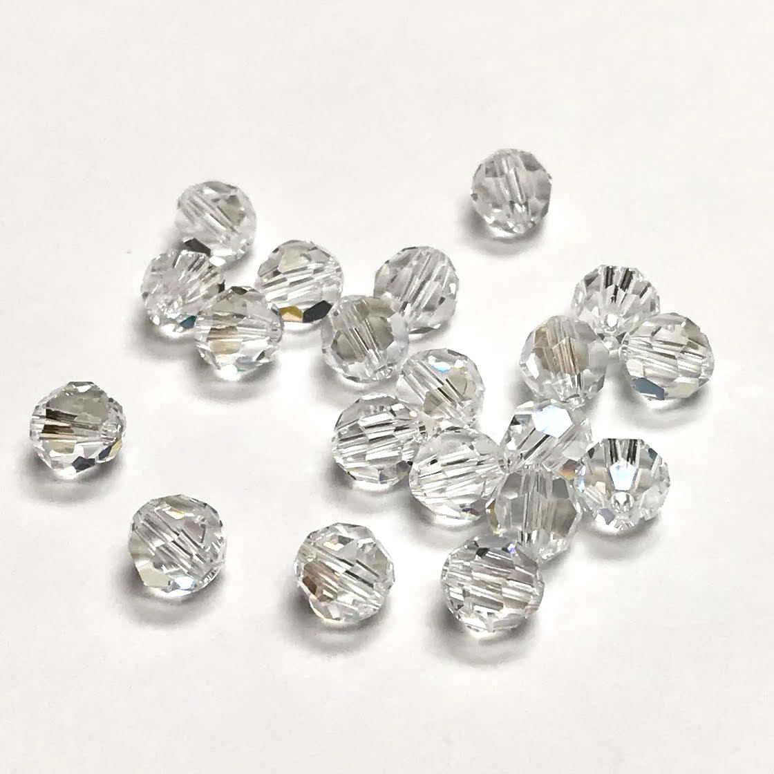 Swarovski Elements, Faceted Round 5000-Crystal, 8mm 1 buc