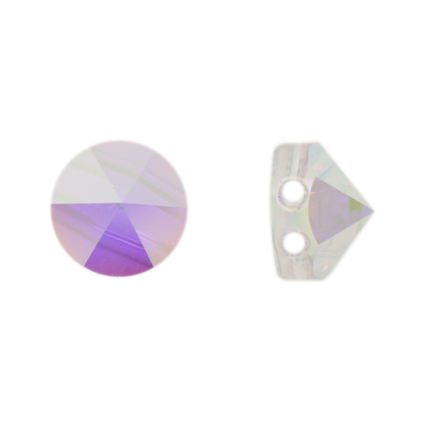 Swarovski Elements, Round Spike Bead 5062, Crystal AB 7.5mm 1 buc
