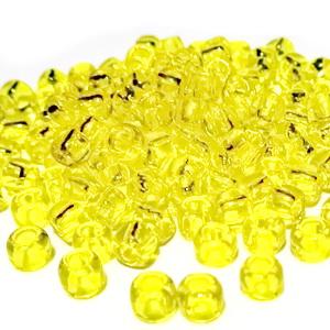 Margele TOHO - rotunde 6/0 : Transparent Lemon 20 g