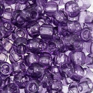 Margele TOHO - rotunde 6/0 : Transparent Sugar Plum 20 g