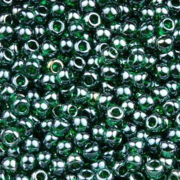 Margele TOHO - rotunde 11/0 : Transparent-Lustered Green Emerald 20 g