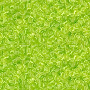 Margele TOHO - rotunde 11/0 : Transparent Lime Green 20 g