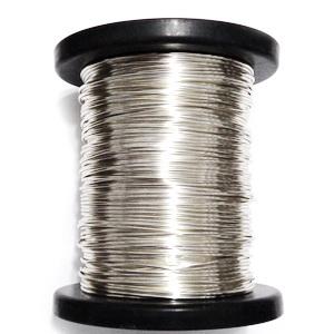 Sarma modelaj NON TARNISH, hard, placata cu argint, 1 mm 1 m