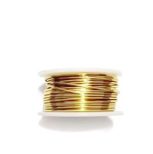 Sarma modelaj, aurie, 1 mm, NON TARNISH, bobina 3.6metri 1 buc