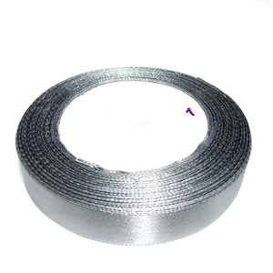 Saten gri, latime 16 mm-rola cca 22m 1 buc